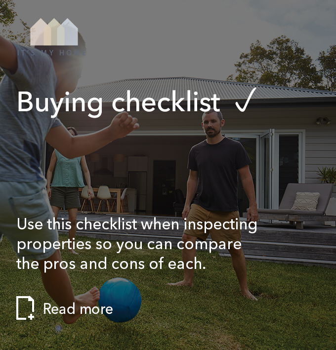 Buying checklist – to follow