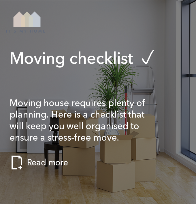 Moving checklist – to follow
